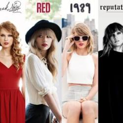 Taylor Swift over the years