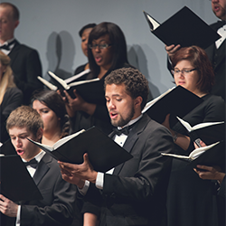 Choirs in performance