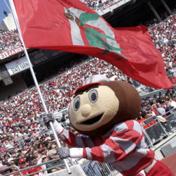 Brutus and Buckeye fans