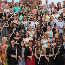 Flute Workshop attendees