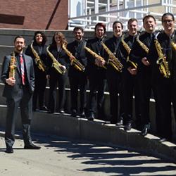 Saxophone students