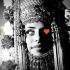 Woman wearing Yemeni headdress