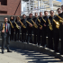 Michael Rene Torres and saxophone students