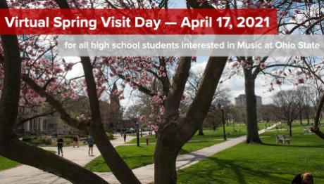 Virtual Spring Visit Day 2021