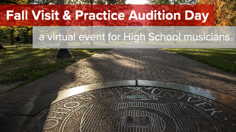 Fall Visit and Practice Audition Day
