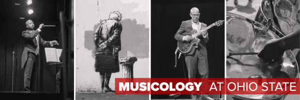 Musicology collage image