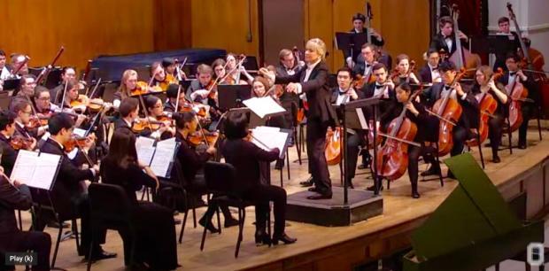 Ohio State Symphony Orchestra - Miriam Burns, conductor