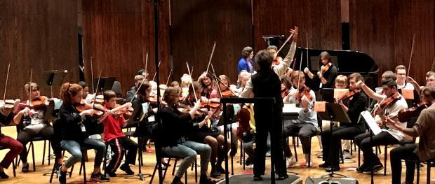 Viola Day 2019 rehearsal