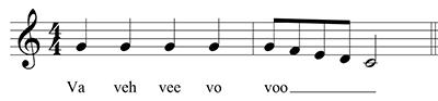 WGC vocalise VA