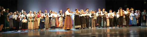 Slovenian folk singers and instrumentalists