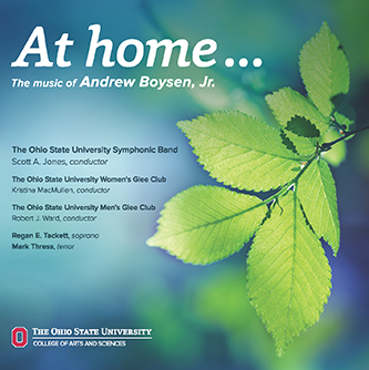 """Symphonic Band's """"At home"""" CD cover"""