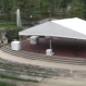 Tent at Browning Amphitheatre