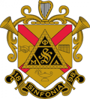Phi Mu Alpha Sinfonia coat of arms