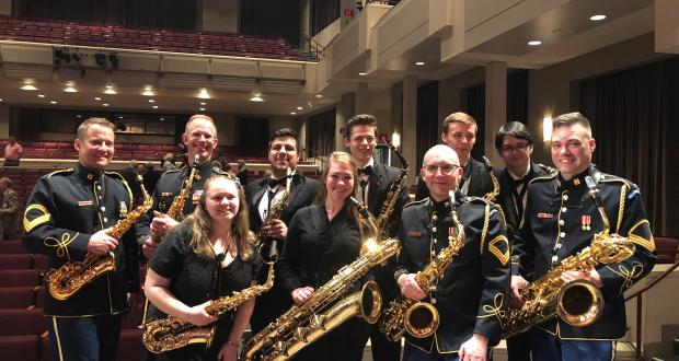 Symphonic Band Saxos with the US Army Band