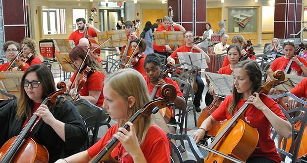 String Teacher Workshop performance at The Ohio Union