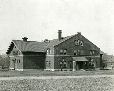 Rehearsal Hall in 1925.
