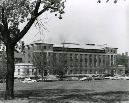 Hughes Hall in 1960.