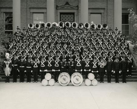 Marching Band in 1955.
