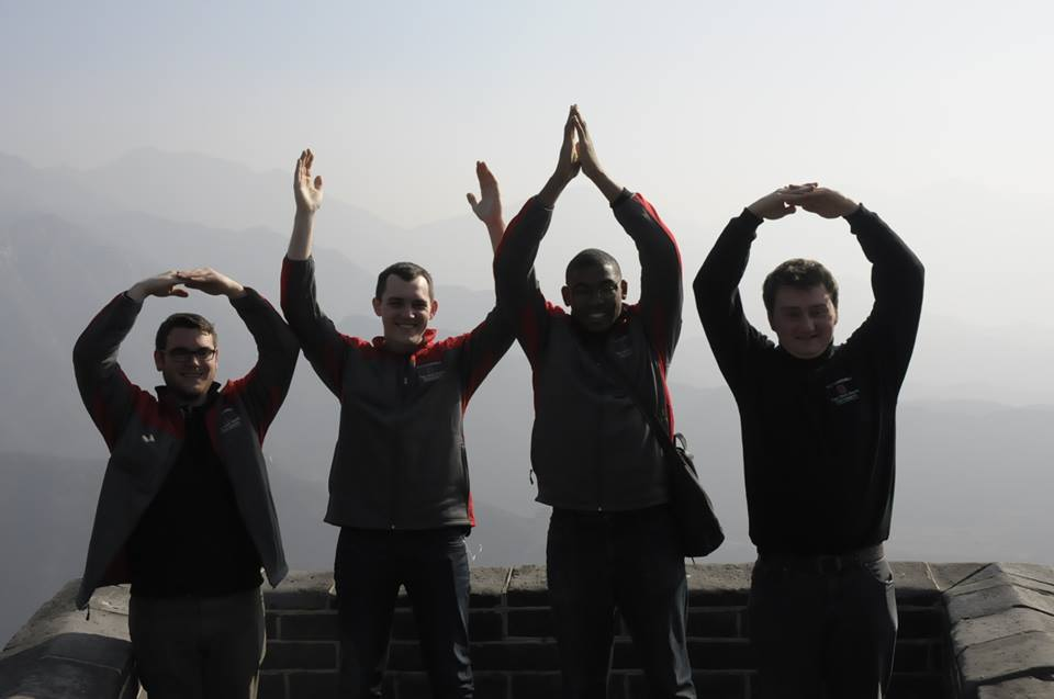 OHIO at Great Wall