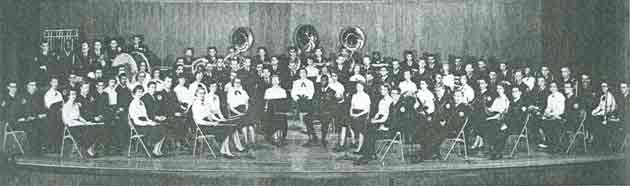 Activities Band 1953