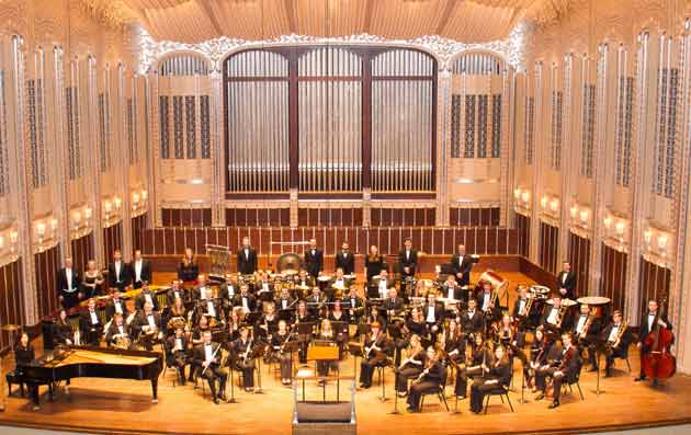 Wind Symphony at Severance Hall, 2013.