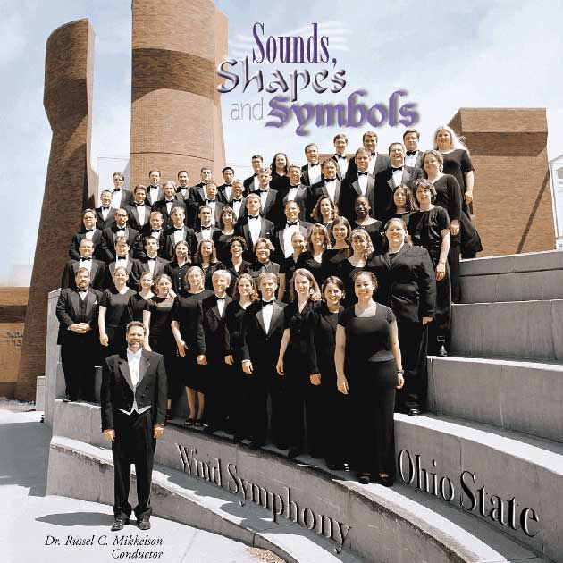 Wind Symphony CD Cover: Sounds, Shapes and Symbols Mark Records (2000).