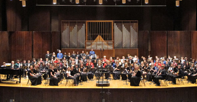 The 2012 Honors Band.