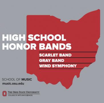 High School Honor Band Weekend | School of Music