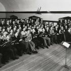 Men' Glee Club 1936 rehearsal.