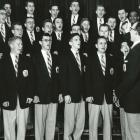 Men's Glee Club 1954 recital.