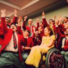 The Men's Glee Club sings for disabled child.