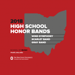 High School Honor Band Weekend 2018
