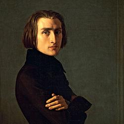 Franz Liszt (Lehmann portrait)