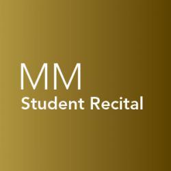 Student recital, Master of Music