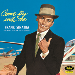 """Frank Sinatra album cover, """"Come Fly With Me"""""""