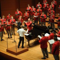 Men's Glee Club 2016 at Lincoln Center, New York