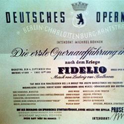 Sammlung Deutsche Oper poster detail