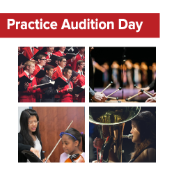 Practice Audition Day