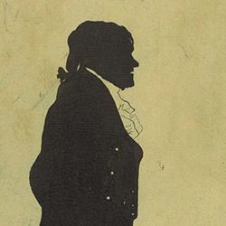 Mozart silhouette