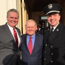 Mikkelson, Nicklaus, Hoch at Congressional Honor Ceremony