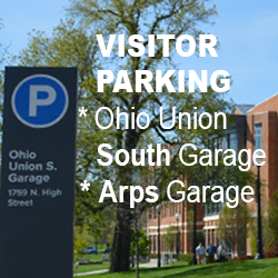 Two garages for School of Music visitors