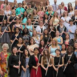 Flute Workshop attendees