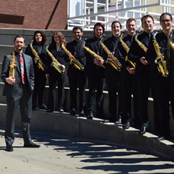 Saxophone students