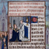 Medieval painting, Corpus Christi image and text