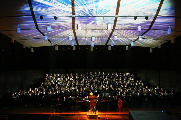 Carmina Burana performanceMulti-Media collaborative performance of C. Orff's Carmina Burana