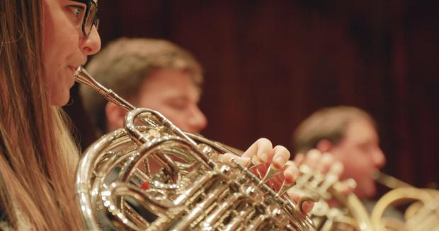 Student horn players