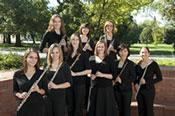 Flutists on the Oval