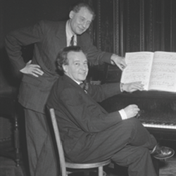 Composers Hoeree and Honegger