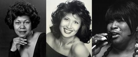 Columbus jazz divas Mary McClendon, Louise Salvador, Jeanette Williams