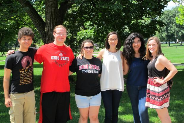 Mentor group on the Oval